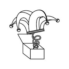 面白い冗談歯アイコン ベクトル イラスト デザインのオモチャ箱の