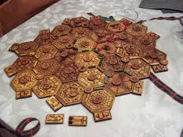 Homemade Wooden Games Wood Burned Settlers of Catan Board 100 Steps with Pictures 63
