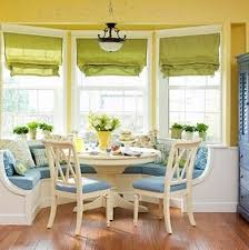 Liz for your kitchen Bay Windows + Banquette seating!