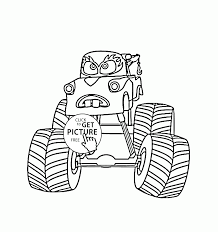 Small Picture Mater Monster Truck Cars coloring page for kids transportation