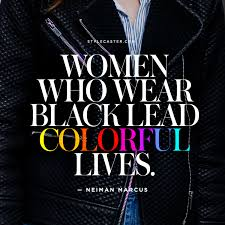 Black Love Quotes Extraordinary The Best Fashion Quotes On The Color Black StyleCaster