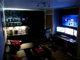 Winsome Remarkable Gaming Room Ideas Images Design Press Cool Computer  Setups House Appealing Inspiration Best Dorm