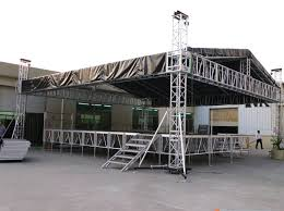 diy portable stage small stage lighting truss. Diy Portable Stage Small Lighting Truss. RK Aluminium  For Concert Diy Portable Stage Small Lighting Truss