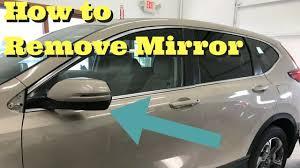 2017 2018 Honda CRV Side Mirror Removal How to Remove Mirror ...