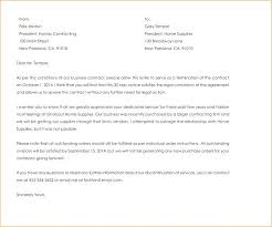 Business Termination Letter Business Contract Termination Letter ...