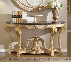 gold console table. Meridian Versailles Console Table In Gold 401-T