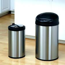 13 gallon black kitchen trash can gallon kitchen trash can reviews black small size of home