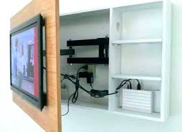 mount tv over fireplace hide wires brick