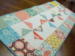 6 Beach-Themed Quilts for Fun in the Sun & ... Quilted Table Runner with Pinwheel Pattern Adamdwight.com