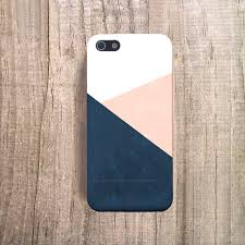 PINK white and navy blue Case Chevron iPhone 4 4s 5 5s bumper