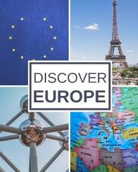 Discover Europe Trip Planner Travel Journal Notebook To