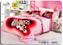 mickey and minnie mouse bedspread free pure cotton home textile mickey minnie series twin