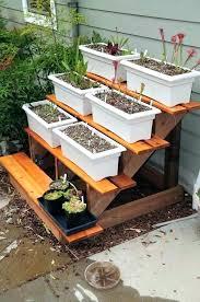 plant shelf outdoor stand tiered garden
