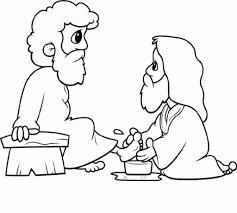 stylish page stylish jesus washes the disciples feet colori good jesus washes
