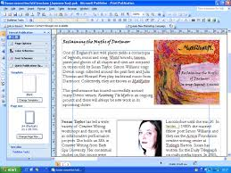 Ms Office Publisher Microsoft Office Professional 2007 Publisher Review Trusted Reviews