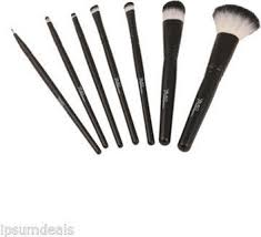 msd black colour 7 in 1 professional makeup brush set cosmetics make up brush in india pare s