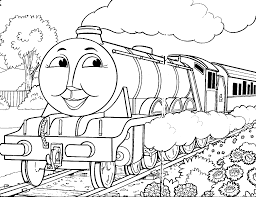 Free Printable Train Coloring Pages For
