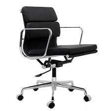 mid aluminum office chair white italian. Eames Aluminum Group Style Softpad Management Chair Replica Black Color Mid Office White Italian