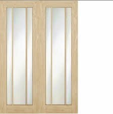 internal oak pair langdale frosted glass pair worcester internal double doors