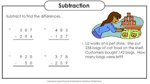 Super Teacher Worksheets Multiplication Word Problems Math Answers ...