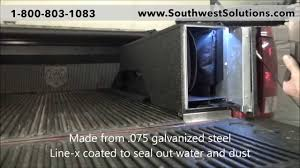 Pickup Truck Bed High Security Gun Lockers for Rifles | Law ...