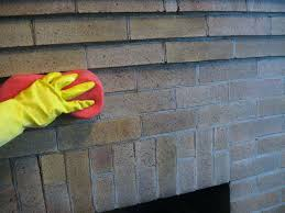 best way to clean soot off fireplace bricks cleaning brick