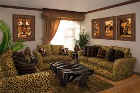 Simple Jungle Themed Living Room Decor Modern On Cool Best And