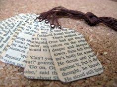 book page crafts create handmade gift cards using old book pages