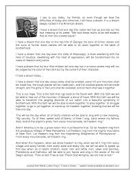 martin luther kings most famous speech what a beautiful soul  martin luther king essay on his speech i have a dream gcse