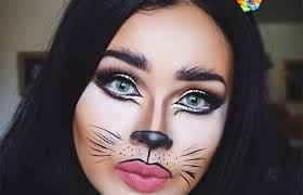 with everyone reaching for the super y and blood and guts style makeup for this year why not take it back to cute with these pretty and easy