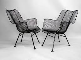 comfortable black wicker woodard patio furniture wrought iron