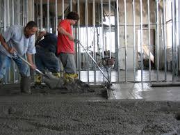 polished concrete floor loft. Old Floor Was In Terible Condition Polished Concrete Loft O