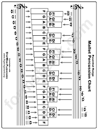 Percussion Note Chart 62 Correct Percussion Chart