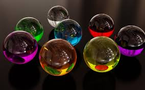 colorful glass spheres wallpaper pin it