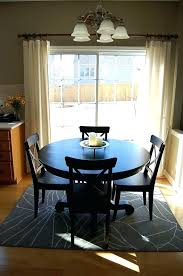 round table square rug dining on rugs room