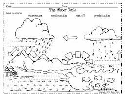 Small Picture Free Science Worksheet Water Cycle Heres some activities from a