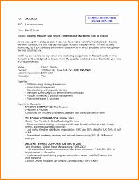 Resume For Recruiter New Hr Recruiter Resume Format Lovely Career