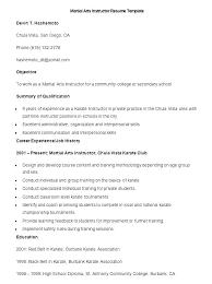 Resume Of Trainer Fitness Trainer Resume Trainer Resume Personal Trainers Resume