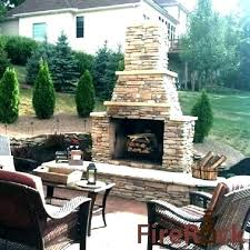 cost of outdoor fireplace how much does an outdoor fireplace cost cost outdoor fireplace of with