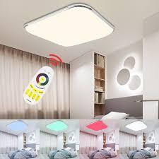 Beste Kopen Led Plafond Lamp Rgb Dimbare Meerdere Kleur Moderne