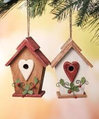 Take a look at this Birdhouse Ornament Set on zulily today! Christmas  DecorationsChristmas ...