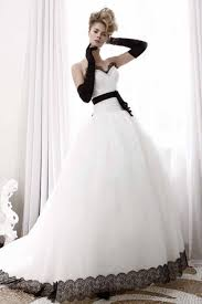wedding dresses with color white wedding dresses with black