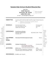 resume for high school students examples resume examples for high school students with little experience