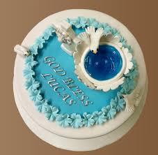 Sugar Paste Cake Decorating Baptism Cake With Handmade Fondant And Sugar Paste Decorations