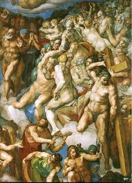 page of last judgment detail by michelangelo buonarroti in the web gallery of art a searchable image collection and database of european painting
