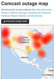 Comcast Outage Map I Work From Home And Have Had No