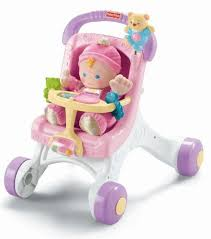 Fisher Price Stroller Walker for Girls | 1 Year Old Girl Gifts ...