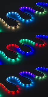 waterproof color chasing led light strips with multi color leds 16 40ft 5m outdoor led tape light with 18 smds ft 3 chip rgb smd led 5050 on showing