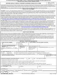 Va Incident Report Form Magdalene Project Org