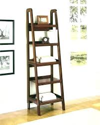 ladder book shelf bookshelf bookcase leaning catalog with drawers uk ladder book shelf